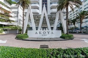 Akoya Condo 6365,Collins Ave Miami Beach 50232